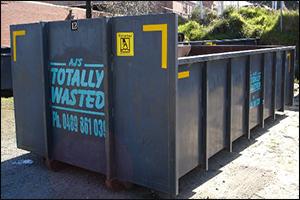 12 cubic metre skip bin