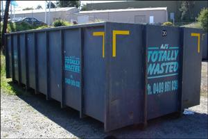 20 cubic metre skip bin