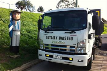 Skip Bin Truck Geelong