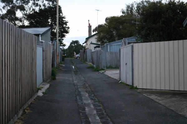 rubbish removed via access lanes
