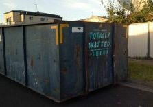 totally wasted norlane 320 large skip bin